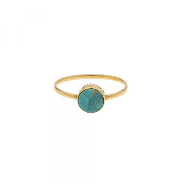 Bague Or 9 carats - Turquoise