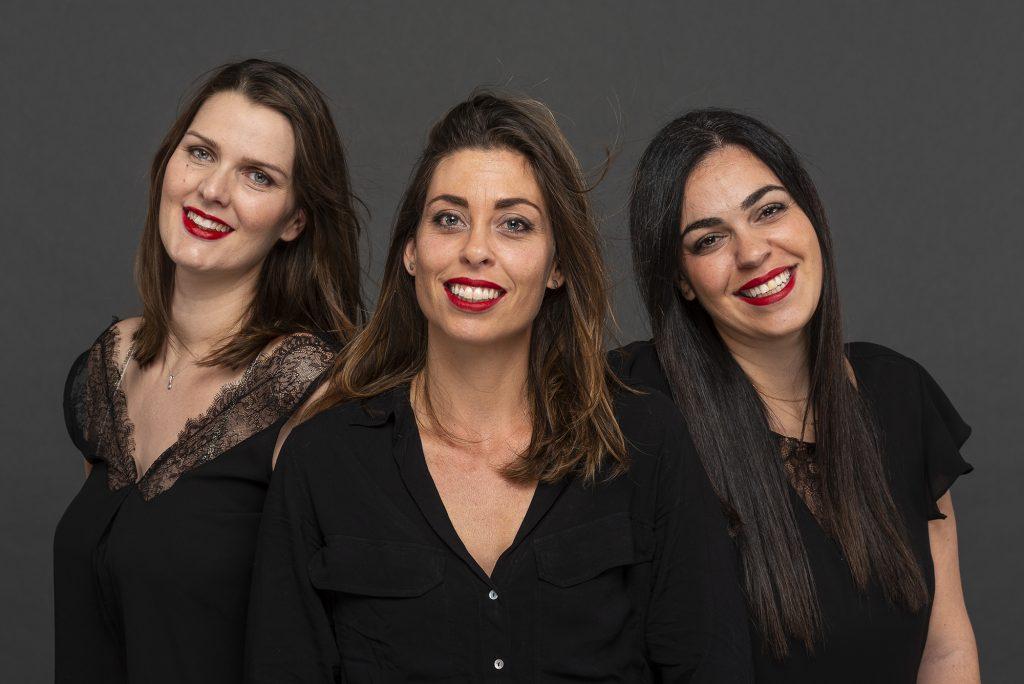 Aurelie, Julie et Lulu les filles du SPA