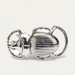 Claris Virot Boucle Beetle Argent chez By Mamé