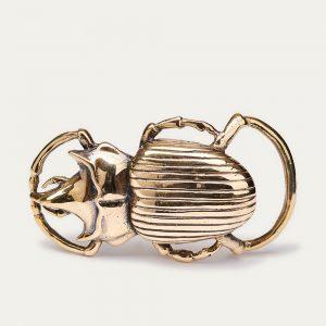 Claris Virot boucle-ceinture-scarabee dorée chez By Mamé Marseille