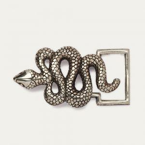 Claris Virot boucle-serpent-argent chez By Mamé
