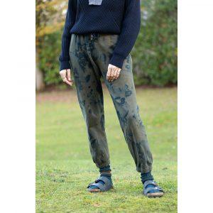 Sweat Pants Abbot coloris- Army Navy